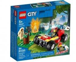 LEGO Polska Klocki City Pożar lasu