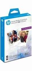 HP Social Media Snapshots, 25 sheets, 10x13cm W260A