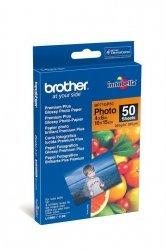 Papier fotograficzny Brother Premium Plus Glossy Photo błyszczący — 50 arkuszy 10 x 15 cm 260g (BP71GP50)
