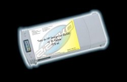 Tusz zamiennik Yvesso nr 91 do HP Designjet Z6100 775 ml Yellow C9469A