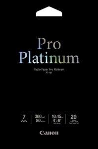 Papier Canon 10x15 PT-101 Photo Paper Pro Platinum 300g /20ark/ 2768B013