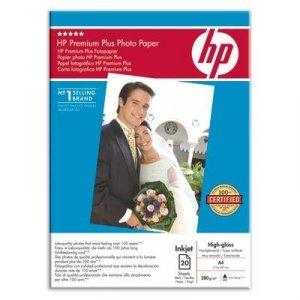 Papier A4, 280g, 20ark. - HP Premium Plus Photo Paper, wysoki połysk