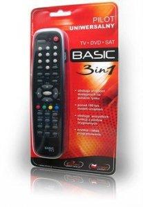 Elmak Pilot uniwersalny Basic 3w1 TV, DVD, SAT/ DVB-T