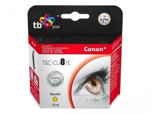TB Print Tusz do Canon CLI8YE TBC-CLI8YE YE 100% nowy