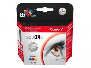 TB Print Tusz do Canon BCI24C TBC-L024C Colour 100% nowy