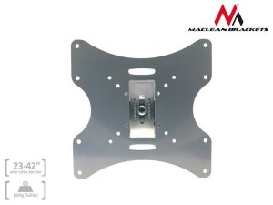 Maclean Uchwyt do Telewizora lub monitora 23-42 30kg uniwersalny MC-501A S max vesa 200 srebrny