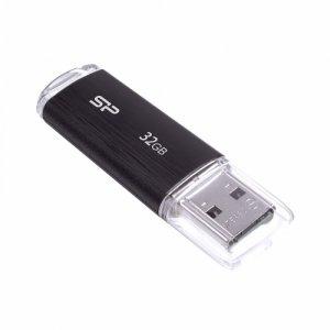 Silicon Power ULTIMA U02/PLASTIC 32GB USB 2.0  CZARNY
