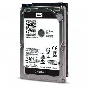 Western Digital HDD Black 500GB 2,5'' 32MB SATAIII/7200rpm