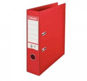 Esselte Segregator no.1 A4, szerokość 75mm, czerwony