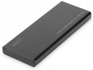 Digitus Obudowa zewnętrzna USB 3.0 na dysk SSD M2 (NGFF) SATA III, 80/60/42/30mm, aluminiowa