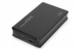 Digitus Obudowa zewnętrzna USB 3.0 na dysk SSD/HDD 2.5 cala RAID SATA, JBOD, RAID0, RAID1, Aluminiowa