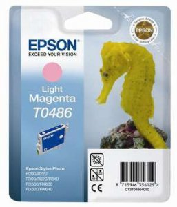 Epson Tusz Stylus Photo R200 T0486 Light Magenta, 13ml
