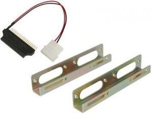 Digitus Szyny montażowe/Adapter SSD/HDD 2.5 cala do gniazda 3.5 cala metalowe zestaw