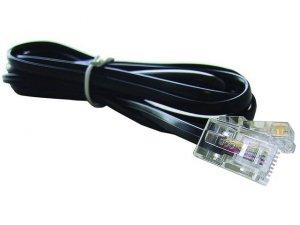 Gembird Kabel telefoniczny 4 żyły z końcówkami RJ-11 3M