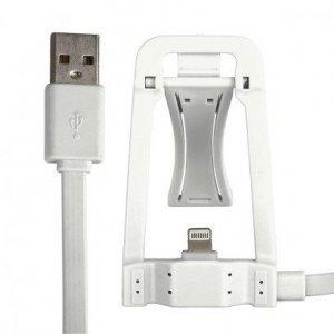 Global Technology KABEL USB z dokowaniem iPhone 6/6s/5/5s biały
