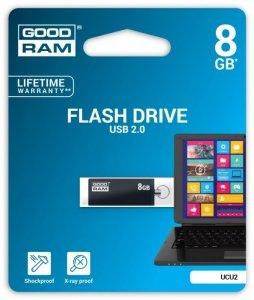 GOODRAM CUBE 8GB USB 2.0 Czarny