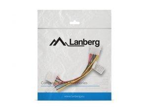 LANBERG Kabel rozdzielacz zasilania 1xHDD - 2xHDD 15cm