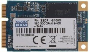 GOODRAM Dysk S400M 60GB mSATA3