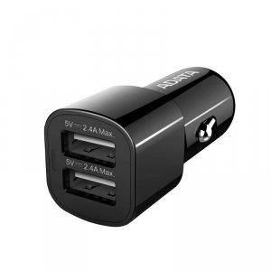 Adata Ładowarka samochodowa 2 x 2.4A USB 17W