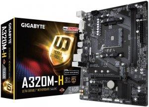 Gigabyte Płyta główna GA-A320M-H AM4 2DDR4 DVI/HDMI/USB 3.1 M.2 micro ATX