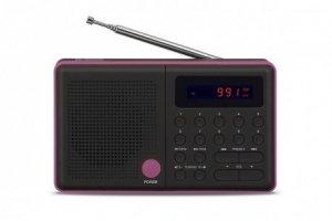 Eltra Radio Pliszka USB, FM czarne