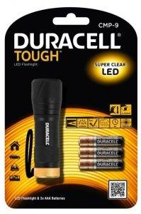 Duracell Latarka LED Tough Wodoodporna + 3x AAA
