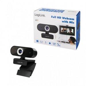 LogiLink Kamera internetowa FULL HD z mikrofonem