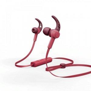 Hama Słuchawki dokanałowe bluetooth Connect czerwone