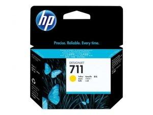 Tusz HP nr 711 yellow - 29ml - do Designjet T120 / T520 - CZ132A - NOWOŚĆ