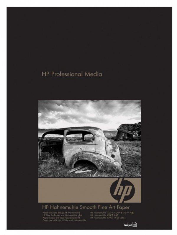 Papier w ark. HP Smooth Fine Art 265 g/m2-A3+/330 x 483 mm/25 ark. Q8728A