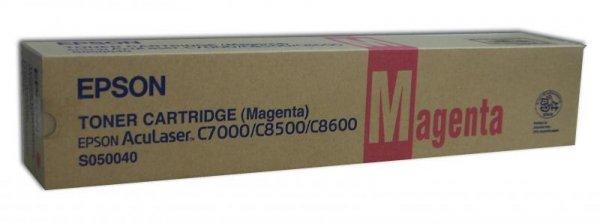 Toner magenta do Epson AcuLaser C8500/8600, wyd. około 6 000 stron A4 przy 5% pokryciu.