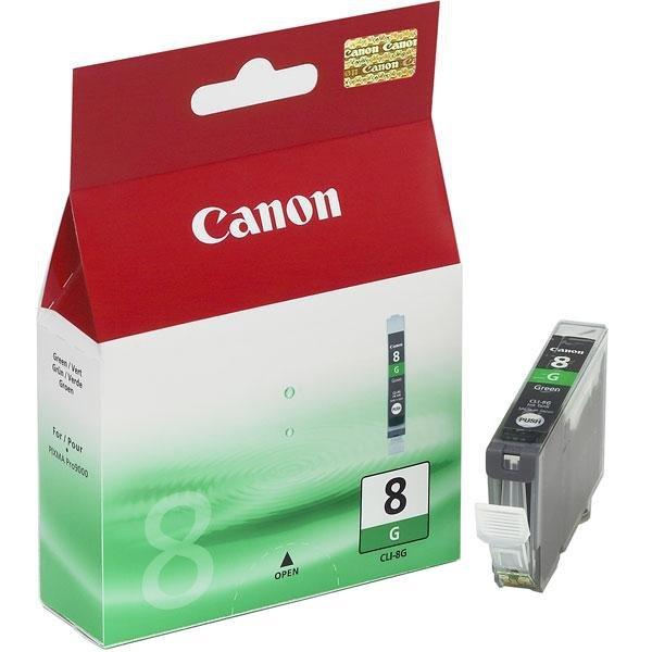 Wklad Green Canon CLI-8G Zielony