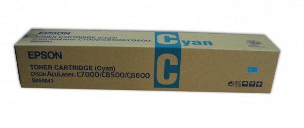 Toner cyan do Epson AcuLaser C8500/8600 wyd. 6 000 . stron A4 przy 5% pokryciu