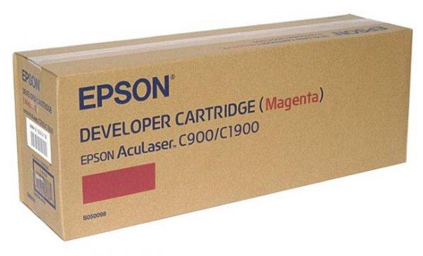 Toner magenta do Epson AcuLaser C1900, C900/N, wyd. około 4,5 tys. stron A4 przy 5% pokryciu