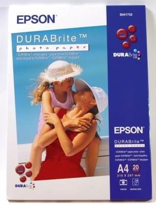 Papier Epson photo paper A4, 200g/ m2 - 20 arkuszy S041732