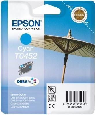 Wkład niebieski do Epson Stylus C64,C84,C66,C86 T0452