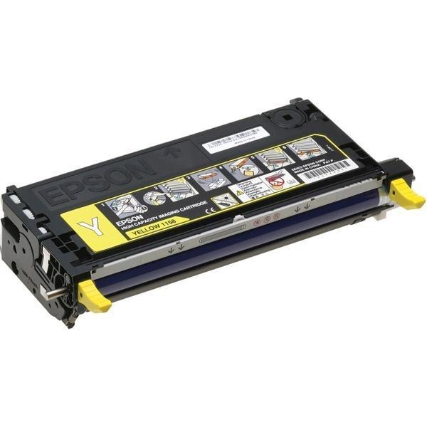 Toner Yellow o wyższej wydajności do Epson AcuLaser C2800DN/DTN/N
