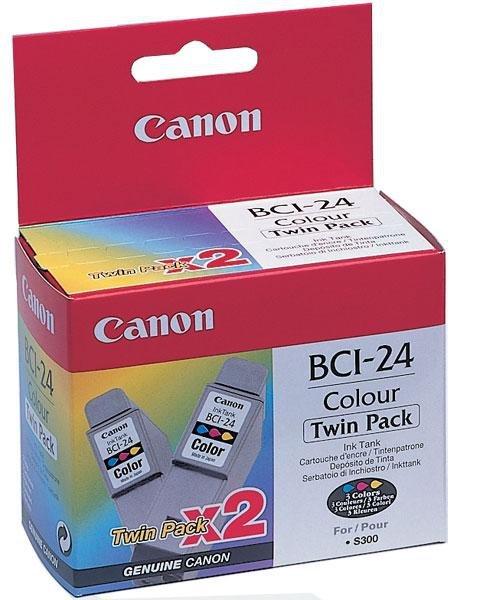 Tusz Kolorowy BCI-24C (2-pack)
