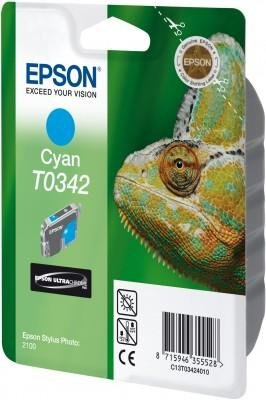 Atrament do Epson Stylus Photo 2100 - błękitny T0342