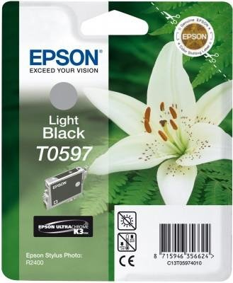 Wkład light black do Epson Stylus Photo R2400 T0597