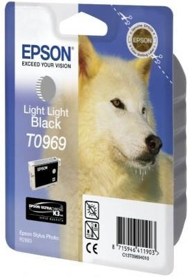 Tusz (Ink) T0969 light light black do Epson Stylus Photo R2880
