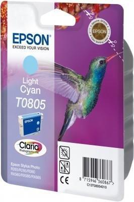 Wkład light cyan do Epson Stylus Photo R265/360/RX560/585/685; T0805