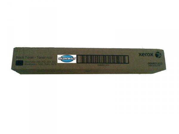 Toner XEROX 006R01223 Black do DOCUCOLOR DC240 DC242 DC250 DC252 DC260 WORKCENTRE WC7655 WC7665 WC7675