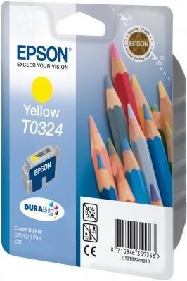 Wkład żółty do Epson Stylus C70/C80 T0324