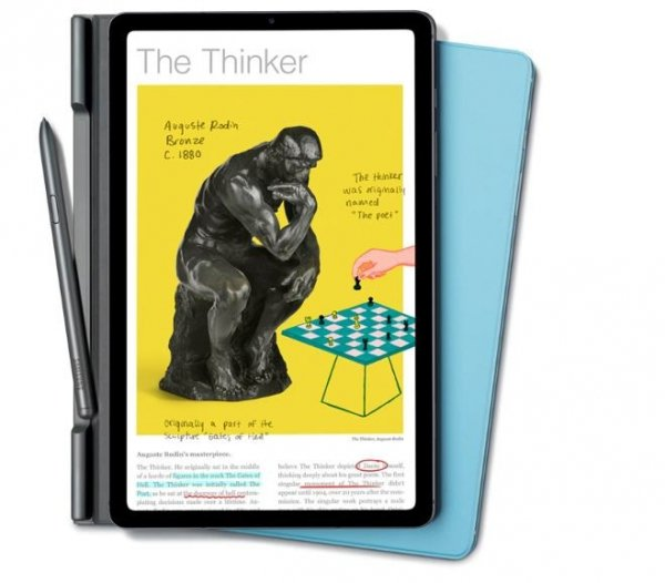 Samsung Etui Book cover Tab S6 Lite Blue EF-BP610PLE