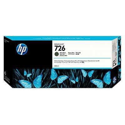 Wkłady atramentowe HP 726 Czarny mat (matt black) 300ml CH575A