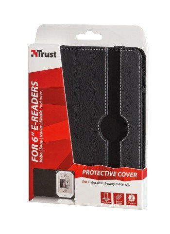 "Trust Eno Protective Cover for 6"" e-readers - black"