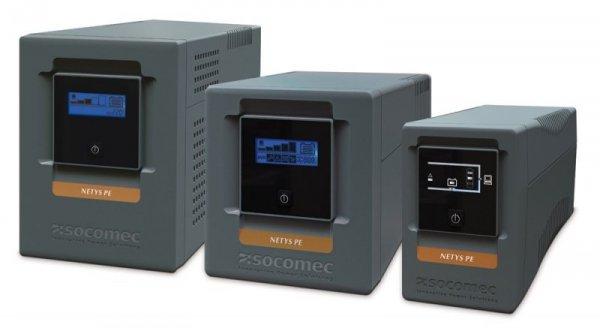 Socomec UPS NETYS PE 850VA/480W 230V/AVR/4XIEC 320,LED, USB