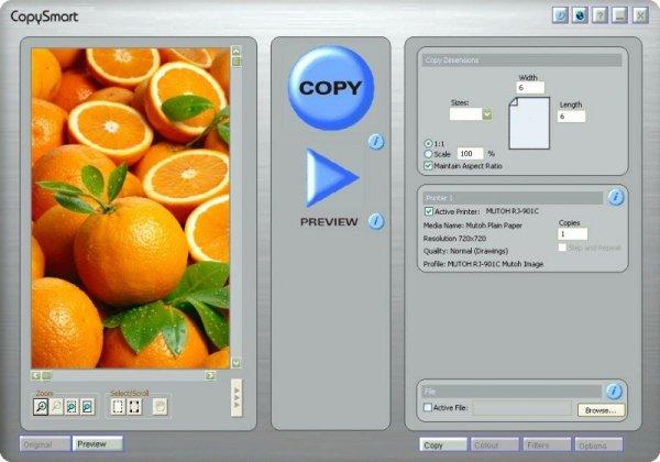 Oprogramowanie do skanowania do druku CopySmart
