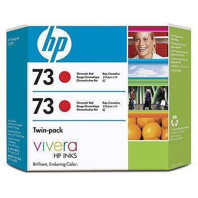 Tusz HP 73 red chromatic (2x130ml) Vivera CD952A